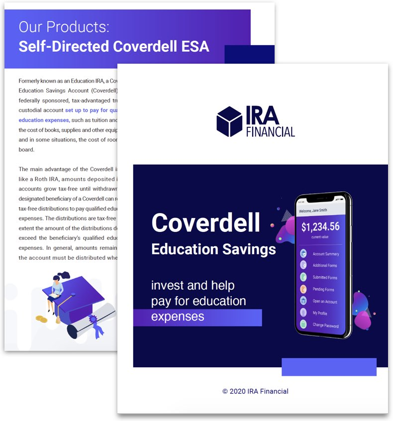 Coverdell ESA Info Kit Cover