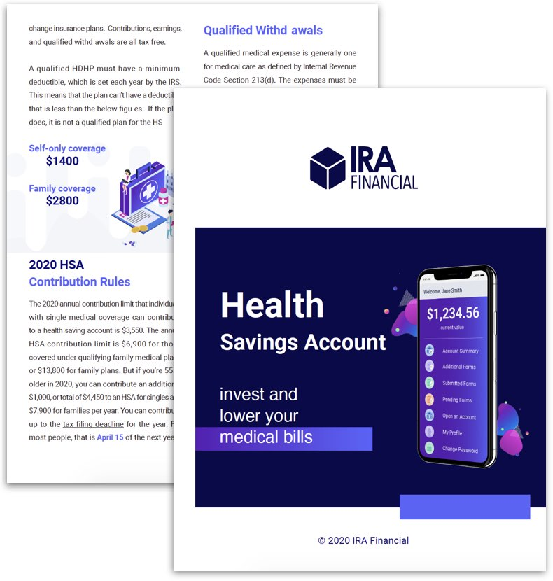 HSA Info Kit Cover